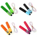 Sports Adjustable Jump Rope With Counter Number Fitness Exercise Gym Skipping String