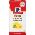 mccormick pure lemon extract 29 ml.