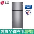 (1級能效)LG525L雙門變頻冰箱GN-HL567SV含配送到府+【愛買】