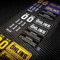 一套13張>防水.OHLINS貼紙 前叉貼紙/後避震貼紙/歐林貼/NCY/RPM/吉村/dy/MSP/GJMS