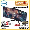 Dell Alienware AW3418HW 34.13 inch Widescreen Gaming monitor / 144Hz / NVIDIA G-Sync