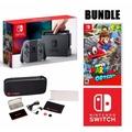 [1 Year Warranty] Nintendo Switch Mario Odyssey Console Bundle (Grey)