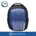 【DATASHELL】個性直紋硬殼後背包(藍色輕量型)