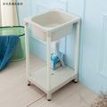 【kihome】精巧日式塑鋼洗濯槽限時$1190/流理台/洗衣槽/洗手台/塑鋼/水槽/洗碗槽/洗衣板