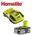 Homelite 超快速 18V鋰電池充電組