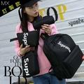 SS-時尚潮牌Supreme四件套子母包 背包+手拿包+單肩包+零錢包