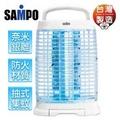 【SAMPO聲寶】15W高效率奈米銀離子捕蚊燈(ML-DF15S)