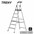 TRENY 工作台 六階 鋁梯 扶手梯 工作梯