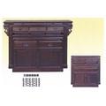 全國紅木家具 黑紫檀 神桌 長五尺一 寬兩尺二 高三尺半