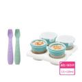 【2angels】矽膠副食品儲存杯 120ml+餵食湯匙