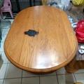 二手全實木餐桌 一桌六椅
