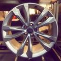 新車拆下Audi New Q7原廠19吋鋁圈 單顆販售