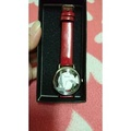 BOLUN 鐵塔 紅錶帶 精美 時尚 女姓手錶 腕錶