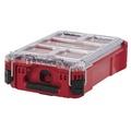 (小小五金) 預購美國 MILWAUKEE 美沃奇 米沃奇 48-22-8435 配套智能收納箱(小) 收納箱 工具箱