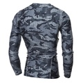 shop 2018 Compression Shirt Long Sleeves Tshirt Compression Shirt Fitness Clothing Camouflage Colorq