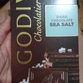 Godiva 海鹽巧克力片 100g
