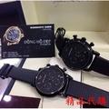 (BB)阿曼瑪尼Armani AR2461 Ar1451男錶 酷黑三眼手錶男士腕錶 AR1737