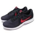 【大尺碼】NIKE REVOLUTION 4 男鞋 慢跑鞋 運動鞋 黑紅 908988-011 12號 13號
