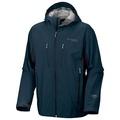 美國百分百【哥倫比亞】Columbia 防水夾克 男款 gore-tex同等級 連帽外套 防風 深青藍 S號 B716