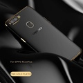 Transparent Clear Electroplate Soft Silicone TPU Phone Case Phone Cover For OPPO R11s Plus for oppo r11s plus