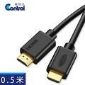 【易控王】HDMI1.4 PLUS版 0.5米 PS4/3D/藍光/4K2K超高畫質(30-298)