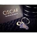 =OSCAR= Smart 迷你造型汽車+LOGO鑰匙圈