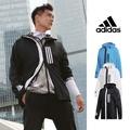 【FairPlay.tw】Adidas WND 黑/白/藍 連帽外套 防風 夾克 運動 小鬼 黃鴻升 彭于晏 防潑水