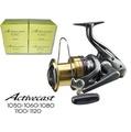 ◆萬大釣具◆Shimano Activecast 1050/1060/1081/1100 遠投 捲線器 +送250m釣魚母線 ㄧ卷