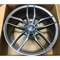 售5孔112 18吋輕量化鋁圈+225/40/18全新跑胎