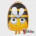 kiddidoo比利時童趣造型硬殼ABS後背包_蜜蜂