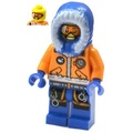 樂高人偶王 LEGO 絕版城市人偶-北極探險家#60036 cty0492