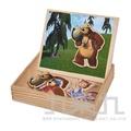 瑪莎與熊磁鐵拼圖盒 SIM04393