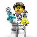 LEGO 71002 11 號 女科學家 實驗 11代 Scientist
