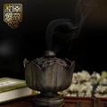 Indoor Yin Tan Plate Fragrance Lotus Censer Buddha Statue