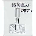 鉋花直刀6×9×26L(雙刀)-矽酸鈣板用