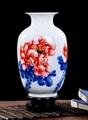 景德鎮陶瓷白色小花瓶擺件 01