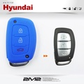 【2M2】HYUNDAI New Tucson New Santa fe 現代汽車 感應鑰匙 鑰匙套 矽膠套 果凍套