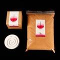 【MU LIFE 荒木雕塑藝品】印度老山檀香粉香氛禮盒1(檀香/印度老山)