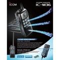 海事對講機 IP57防水 降噪麥克風 可抑制周遭噪音 ICOM IC-M36 #中區無線電