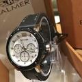 瑞士 賓馬BALMER 黑銀 八角形錶框貝殼鏡面 女皮錶 7935 【Watch-UN】