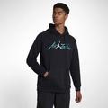 Nike JORDAN SPORTSWEAR 黑色 草寫 男款 連帽長T 帽T av6006-010