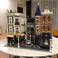 樂拼集會廣場聯合15019街景系列10周年紀念益智玩具拼裝積木