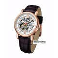 ARBUTUS NEW YORK SKELETON AUTOMATIC ROSE GOLD AR911RWF