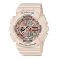 CASIO | นาฬิกาข้อมือสำหรับผู้หญิง BABY-G รุ่น BA-110CP-4A สายเรซิน สีชมพู