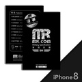 Mr.com 康寧軍規防爆3D滿版玻璃保護貼 (iPhone 8)