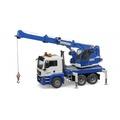 【HAHA小站】RU3770 麗嬰 德國製造 BRUDER 1:16 MAN 藍色吊車組 工程車 兒童 大型 汽車 玩具