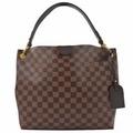 Louis Vuitton LV N44044 GRACEFUL PM 棋盤格紋皮飾邊磁釦單肩背包_現貨