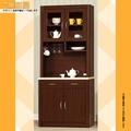 【樂和居】喬治亞2.7尺胡桃餐櫃(全組+石面)