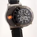 手錶點菸器665 經典時尚男性手錶 造型打火機 點煙器【GF458】◎123便利屋◎