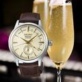 【SEIKO精工】SSA387J1 4R57-00E0Y 調酒師系列機械錶 皮帶 香檳金 40mm 台南 時代鐘錶